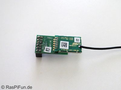HM-MOD-RPI-PCB (ELV Funkmodul für Raspberry Pi) Bausatz - RasPiFun.de